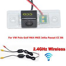 Wireless Car Reverse Rear View Camera For VW Polo Golf MK4 MK5 Jetta Passat B6