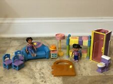 2003 Dora The Explorer Talking House Replacement Door Furniture Figures Parts