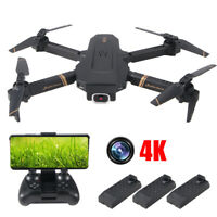 2020 Newly 4D-V4 Mini RC Quadcopter Drone WiFi fpv Drone 4K HD Dual Camera