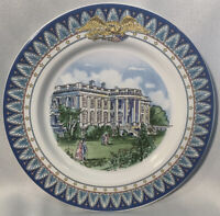 Tiffany & Co.1792-1992 White House Bicentennial Dessert Plate