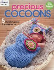 Precious Cocoons Newborns Annie's Attic 5 Designs Crochet PATTERN/Instructions