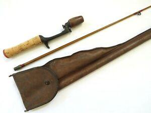 Vintage Heddon Pal Casting Rod # 3151 5 1/2' XL w/ Handle and Case