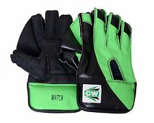 """CW """"MATCH"""" High Quality Top Grade Men's Cricket Wicket Keeping Gloves For Match"""
