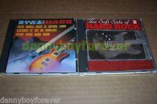 Soft Side of Hard Rock Vol 1 & 2 CD Lot Keel DIO TNT Treat Magnum China Paganini