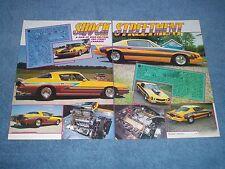 "1978 Chevy Camaro Z/28 Vintage Pro-Street Article ""Shock Streetment"" 1980"
