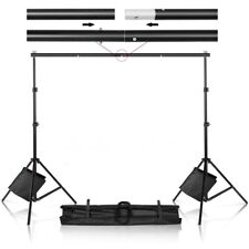 New listing Fast Ship! 10' X 7' Adjustable Photography Background Support Stands & Sandbags