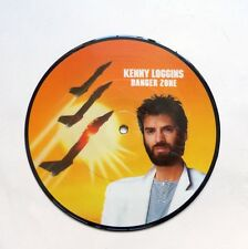 "Kenny Loggin Danger Zone 7"" Picture Disc in PVC sleeve"