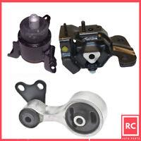 Engine Motor & Transmission Mount Set 3PCS for 2003-2008 Mazda 6 3.0L for Auto