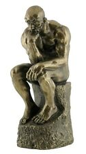 Veronese Bronze Figurine Auguste Rodin The Thinker Le Penseur Statue Replica