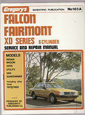 FORD FALCON XD SERIES 6 CYLINDER SERVICE & REPAIR MANUAL  1979 - 82