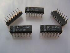 Nat. Semi. LM348N Op Amp Quad General Purpose IC OM0031 5 pieces