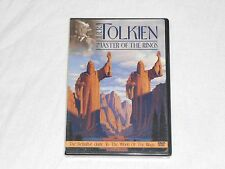 NEW J.R.R. Tolkien Master of the Rings DVD JRR Tolkein Lord Hobbit (CUT BARCODE)
