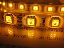72w 24v 24volt 5m smd5050 ARANCIONE GIALLO IMPERMEABILE LED STRIP STRISCIA