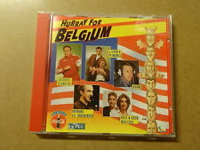 CD / HURRAY FOR BELGIUM (JACQUES VERMEIRE, RAYMOND GROENEWOUD, KOEN WOUTERS)