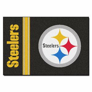 """NFL Pittsburgh Steelers Floor Mat, 18"""" x  28"""""""