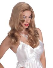 Women's Vintage Hollywood Cinema Siren Blonde Costume Wig