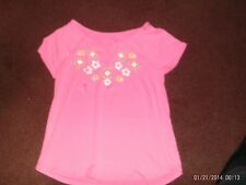 justice  -- girls size 12 ---pink with embellished flower on top---nwt