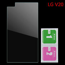 For LG V20 9H Tempered Glass Screen Cover Film Protector + Dry / Wet Wipes Set