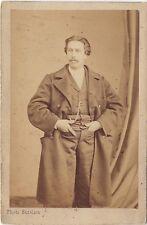 Bazelais Photographe primitif à Nantes Photo cdv Vintage albumine