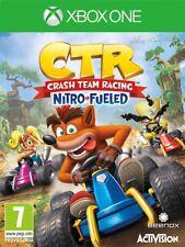 Videogioco Crash Team Racing Nitro Fueled Nuovo Originale microsoft XBOX ONE CTR
