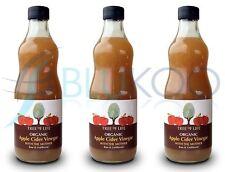 Tree of Life Organic Apple Cider Vinegar - 500ml (Pack of 3)