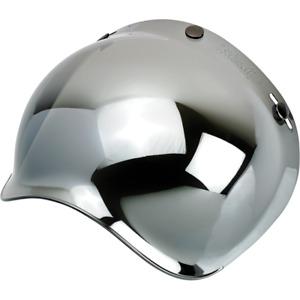 Biltwell Moto Bubble Shield Chrome Mirror fits Gringo Bonanza ++  | 2001-221