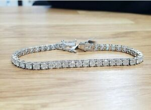 Best Deal 5 Ct Top Most Quality Natural Round Diamond Tennis Bracelet White Gold