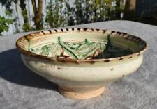 Superb Antique 12th Century Bamiyan Sgraffito Pottery Bowl Persia / Afghanistan