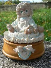 NUOVO Enesco 620742 Calico Kitten carillon vintage  Priscilla Hillman 1992