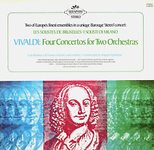 LP VIVALDI FOUR CONCERTOS FOR TWO ORCHESTRAS BAROQUE LOLA BOBESCO & FANTINI