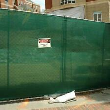Clearance 30% Off - Mesh Tarp 87% Knitted Polyethylene - Fence Screen - New