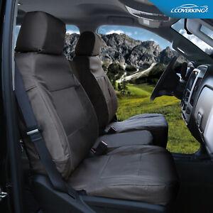 Premium Super Tough Front Custom Seat Covers for GMC Sierra - Cordura Ballistic