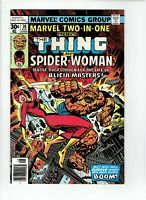 Marvel Two-In-One #30 2nd Full Appearance Spider-Woman 1977
