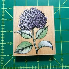2001 Hero Arts Hydrangea Bloom with Leaves Rubber Stamp