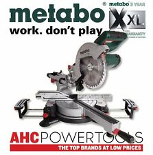 "Metabo KGS216M 216mm 8"" 1500w Laser Slide Compound Mitre Saw 240V"