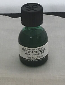 The Body Shop Tea Tree Oil Suitable for Blemished Skin 20ml 100% Vegan