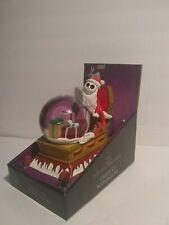 Nightmare Before Christmas Tim Burton's Santa Jack Skellington Snow Globe Disney