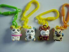 Hamtaro The Hamster Mini Figurines Pendants Set Anime Manga Figures Collectibles