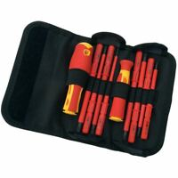 Draper Expert 10 Piece VDE Interchangeable Blade Screwdriver Set 05721