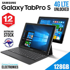 "Samsung Galaxy TabPro S 12"" Laptop Tablet 128 GB WIN 10 SM-W708Y WIFI + 4G LTE"