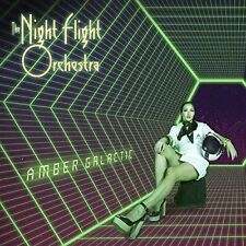 Amber Galactic THE NIGHT FLIGHT ORCHESTRA CD ( FREE SHIPPING) SOILWORK