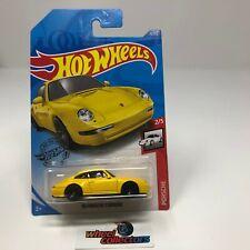 '96 Porsche Carrera #72 * YELLOW * 2020 Hot Wheels Case H * D43