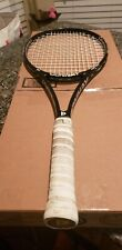Donnay pro one 97 , 10.9oz, 16x19 grip 4 3/8 solid tennis racquet.