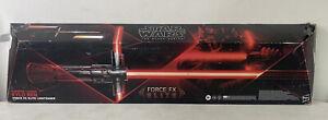 StarWars The Black Series Supreme Leader Kylo Ren Force FX Elite Lightsaber READ