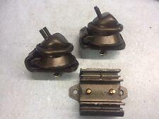 Motor /& Trans Mount 3PCS Set for 99-04 Nissan Frontier 3.3L 4WD// Xterra 3.3L 4WD
