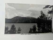 POSTCARD ?RPPC Monadnock Lake and Mountain Dublin NH C-2