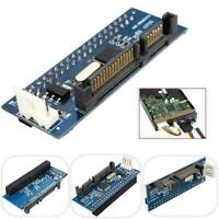 """IDE to Serial SATA ATA 3.5"""" Hard Drive Convertor HDD Serial New Ad Parallel N3O4"""