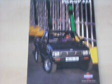 53540) Nissan Pick-up Prospekt 11/1996