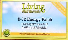 6 x Vitamin B-12 MEGA Patch +Vit C 1 Year's Supply Methyl Increase Oxygen