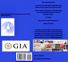 Gemological Institute America E BOOK DVD 43 Page GIA book in Gemology Lessons
